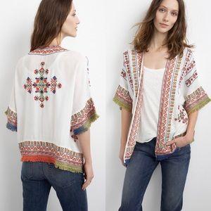 Velvet by Graham&Spencer Adali Embroidered Jacket